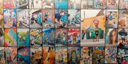 """Artists At Work"" Reveals a Vast Survey at UN's Career Retrospective of Martha Cooper"